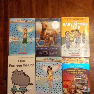 Lot of 6 Kids Books